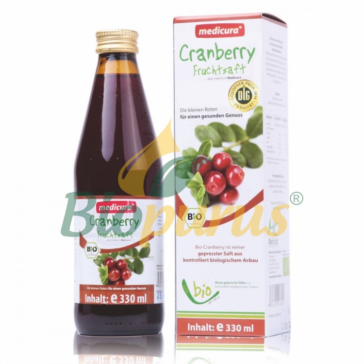Bio Cranberry 100 % Fruchtsaft - 330 ml